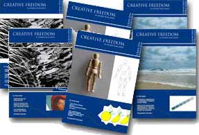 Creative Freedom Drawing Magazine Covers